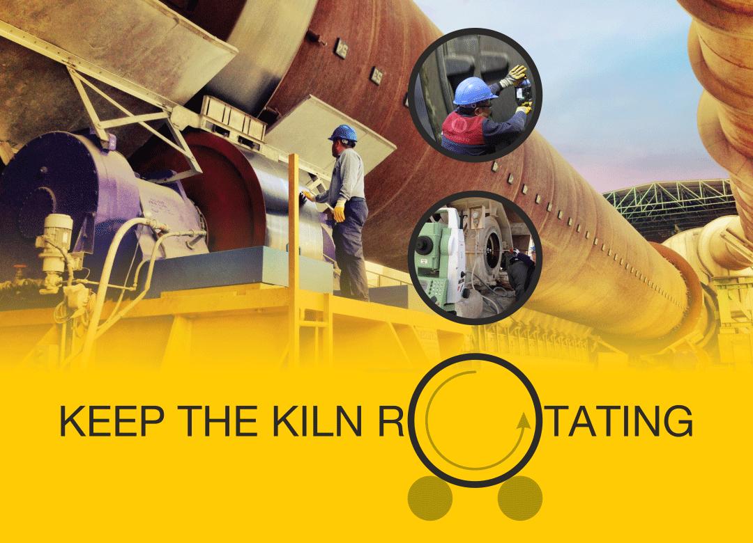 Keep The Kiln Rotating